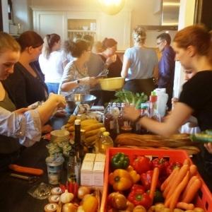 Teamwärts Kochevent 3 - Kochevent