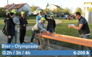 Teamwärts Kacheln BierOlympiade - Team & Spaß Olympiade