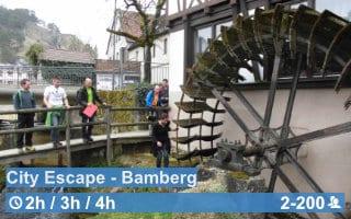 Teamwärts Kacheln CityEscapeBamberg - City Bound