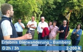 Teamwärts Kacheln ErlebnisBierwanderung Bamberg - Team & Spaß Olympiade