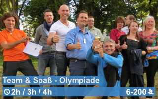 Teamwärts Kacheln TeamSpaßOlympiade - Room-Escape Game